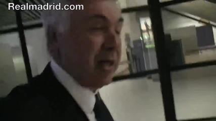 Пътуването на Реал Мадрид до София (hd)