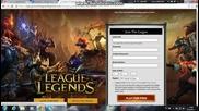 kak da se registrirash v league of legends