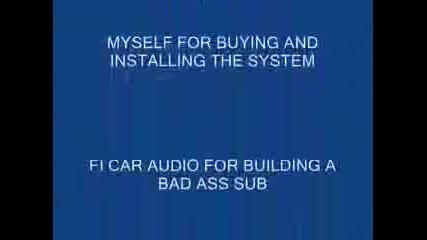 Кола Се Разпада От Бас