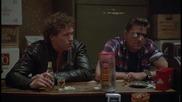 Стивън Сегал в филма Над закона (1988) / сбиването в бара