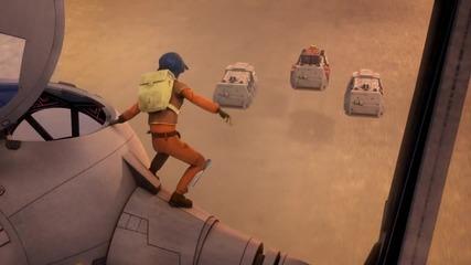 Междузвездни войни - Бунтовниците / Star Wars Rebels/ - епизод 3 (бг аудио) , добро качество