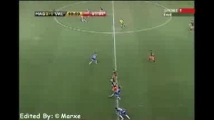 David Villa - The Fantastic Valencia Player