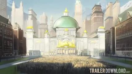 Avatar:legend of Korra-trailer