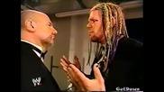 Рейвън чупи пръсти и обяснява защо - Wwe Heat 01.12.2002