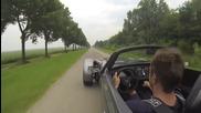Ускорение от 0 до 200 km/h с Donkervoort D8 !