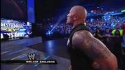 Wwe Dwayne The Rock Johnson recovers from John Cena`s Attitude Adjustment