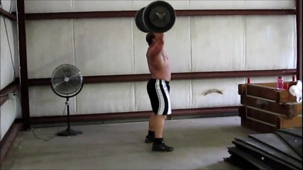 Derek Poundstone Тренировка
