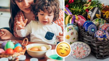 Уникални техники за боядисване на яйца, с които ще впечатлите всички на Великен