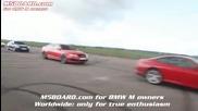 Audi Rs6 mtm 725 Hp vs Bmw M5 Sedan Evosport headers