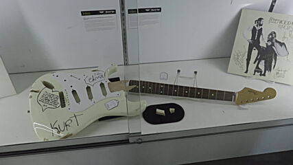 USA: Van Halen and Kurt Cobain's guitars go under the hammer in rock 'n roll auction