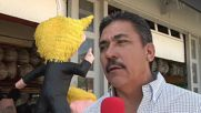 USA: Demand for pinatas shoot through roof following 1st presidential debate