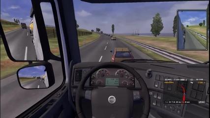 Euro Truck Simulator 2 - геймплей епизод [9] Епизод с момиче продължението ;д
