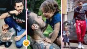 Златото на татко: Venci Venc' с трогателен пост, хиляди го харесаха
