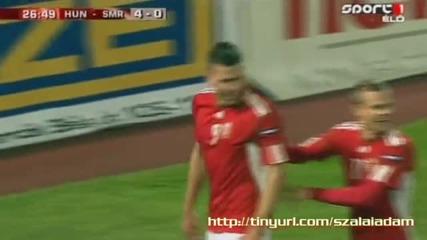 Феноменален гол на унгарец! [08.10.10]