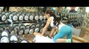 Бикини фитнес тренировка от сексапилния модел Adenike Endtová