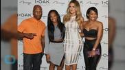 Khloé Kardashian Shows Skin in White Cage Dress