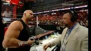 Ледения Стив Остин се завръща в Raw