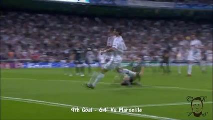 Кристиано Роналдо Всички 33 гола през сезон 2009 10 Реал Мадрид