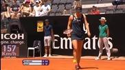 Wta Rome 2013 1/2 Serena Williams vs Simona Halep