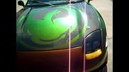 Боя Хамелеон На Mitsubishi 3000 Gt !