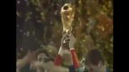 Испания - Холандия 1 - 0 - Церемонията по награждаване
