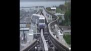 Еднорелсови влакове в Япония
