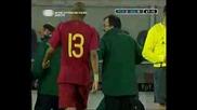 26.03 Португалия - България Младежи 2:0 Ники Михайлов пак се осра