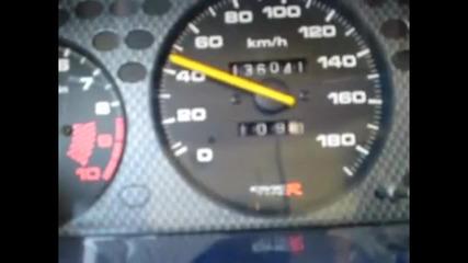 Хонда Civic обръща километража