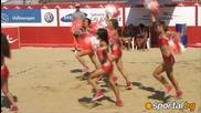 Мажоретките на M-tel Beach Masters
