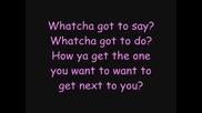 Jordin Sparks - Next to you [ lyrics+bg subs ]