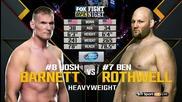 Josh Barnett vs Ben Rothwell (ufc on Fx 18, 30.01.2016)