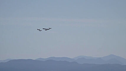 Greece: Fighter jets fly over Acropolis as part of Iniochos intl exercise