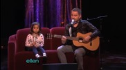 Малката Alexa изпълнява A Talented Father-daughter Duo! (част 5)