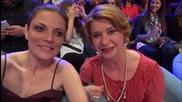 Dancing Stars - Теодора Духовникова и Мая Бежанска подкрепят Дарин и Ани (22.05.2014г.)