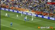 група F - Италия 1 - 1 Нова Зеландия + Измислената дузпа за Италия (световно - 20.06.2010)