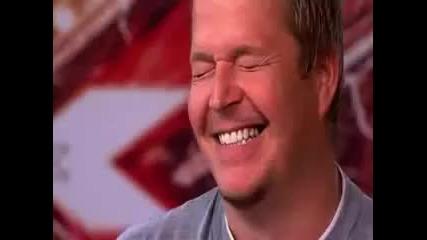 Мъж разплака журито с историята си и гласа си!!! X factor