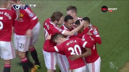 Рашфорд даде аванс на Манчестър Юнайтед