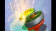Beyblade Metal Fusion Yu vs Reiji