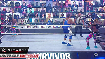 Angelo Dawkins throws his weight around against The New Day: Survivor Series 2020 (WWE Network Exclusive)