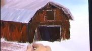 S06 Радостта на живописта с Bob Ross E10 - провинциялен живот ღобучение в рисуване, живописღ