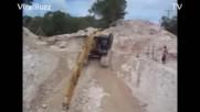 Тяжелая техника аварии 2f2f 1. Огромные грузовики и краны