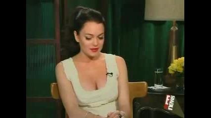 Lindsay Lohan - E! News Live - Bobby Interview