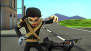 Michael Jackson - Bad (3d Cartoon Version)