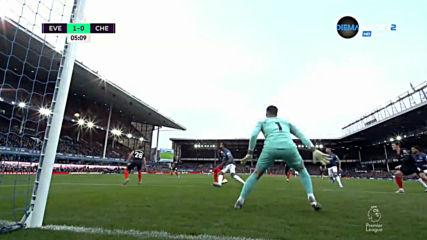 Евертън - Челси 1:0 /първо полувреме/