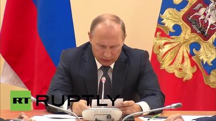 Russia: Putin discusses attempted subversion in Crimea