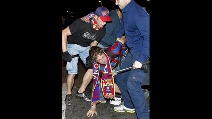 Безредици в Барселона...