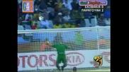 20.06.2010 Словакия - Парагвай 0:2 Всички голове и положения - Мондиал 2010 Юар