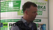 Ukraine: OSCE's Hug reports on difficulties in Donbass