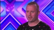 Mervyn Scott sings Whitney Houston's I'm Going To Run To You - The X Factor Uk 2014