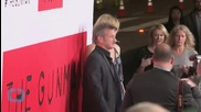 L.A. Premiere of Sean Penn's 'Gunman' Packed With Action